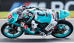October 22, 2016 - Melbourne, Victoria, Australia - in action during the 3rd Moto3 Free Practice session at the 2016 Australian MotoGP held at Phillip Island, Australia. (Credit Image: © Theo Karanikos via ZUMA Wire)