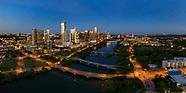 Austin Skyline Study - 3 x 3