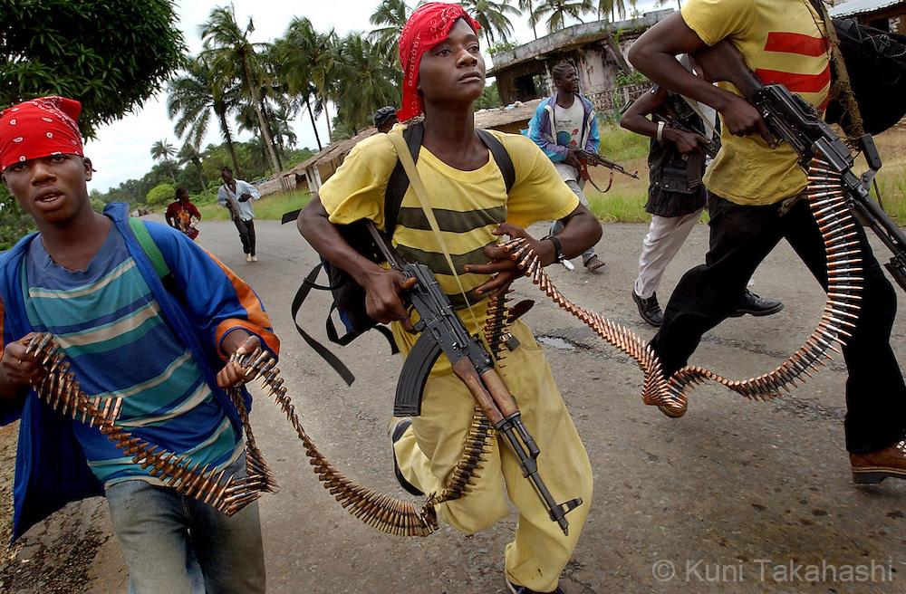 Liberia Civil War Kuni Takahashi Photography