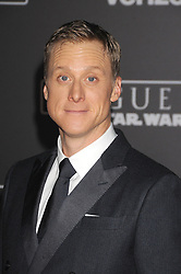 December 10, 2016 - Los Angeles, California, United States - December 10th 2016 - Los Angeles California USA - Actor ALAN TUDYK at the World Premiere for ''Rogue One Star Wars'' held at the Pantages Theater, Hollywood, Los Angeles  CA (Credit Image: © Paul Fenton via ZUMA Wire)