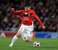 Fotball<br /> England<br /> Foto: Fotosports/Digitalsport<br /> NORWAY ONLY<br /> <br /> Ji Sung Park<br /> Manchester United 2009/10<br /> Manchester United V Besiktas JK (0-1) 25/11/09<br /> UEFA Champions League