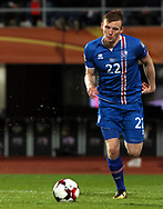 2.9.2017, Ratina Stadion, Tampere, Finland.<br /> FIFA World Cup 2018 Qualifying match, Finland v Iceland.<br /> Jón Dadi Bödvarsson - Iceland