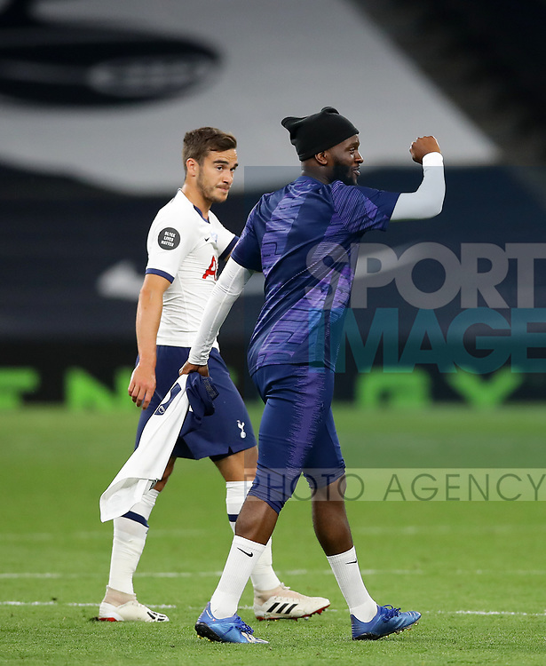 Tottenham's Tanguy Ndombele during the Premier League match at the Tottenham Hotspur Stadium, London. Picture date: 23rd June 2020. Picture credit should read: David Klein/Sportimage