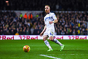 Adam Forshaw of Leeds United (4) passes the ball during the EFL Sky Bet Championship match between Leeds United and Bristol City at Elland Road, Leeds, England on 24 November 2018.