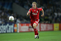 Photo: Paul Thomas.<br /> Porto v Liverpool. UEFA Champions League Group A. 18/09/2007.<br /> <br /> Goal scorer Dirk Kuyt of Liverpool.