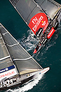 America's Cup 2007 Louis Vuitton Act 13, 6/4/07, Race 4.Emirates Team New Zealand (NZL) and BMW Oracle Racing (USA)