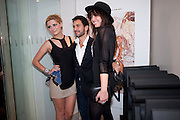 MISCHA BARTON;  MARC JACOBS; DAISY LOWE;, Mark Jacobs' Bang' fragrance preview. Harvey Nicholls. London. 22 July 2010. -DO NOT ARCHIVE-© Copyright Photograph by Dafydd Jones. 248 Clapham Rd. London SW9 0PZ. Tel 0207 820 0771. www.dafjones.com.