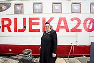Rijeka2020 Director Emina Višnić. Opening weekend of Rijeka2020. Rijeka, European Capital of Culture 2020, Croatia © Rudolf Abraham