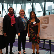 """City Hall, London, Uk, 29th June 2017. Wood End Academy, Hambrough Primary School, Dormers Wells Junior School, Viking Primary School, Greenford High School """"silver Awards"""" of the City Hall awards at the Health and education experts celebrate London's healthiest schools."""