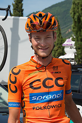 24.05.2017, Bormio, ITA, Giro d Italia 2017, 17. Etappe, Tirano nach Canazei, Val di Fassa, im Bild Felix Grossschartner (AUT, Team CCC Sprandi Polkowice) // during the 100th Giro d' Italia cycling race at Stage 17 from Tirano to Canazei, Val di Fassa, Italy on 2017/05/24. EXPA Pictures © 2017, PhotoCredit: EXPA/ R. Eisenbauer