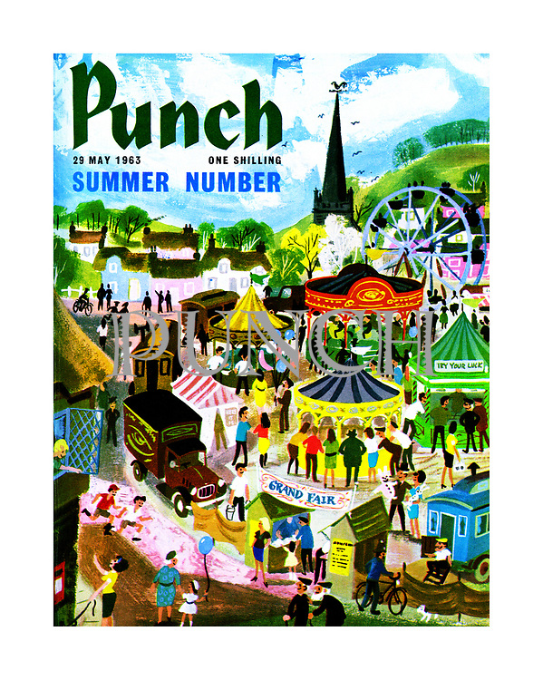 Punch Summer Number 28 May 1963