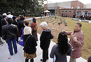 Residents form a long line extending down the sidewalk as they await US President Barack Obama at the City of Decatur Recreation Center in Decatur, Georgia, USA, 14 February 2013. Obama will be promoting the proposals mentioned in his State of Union speech.