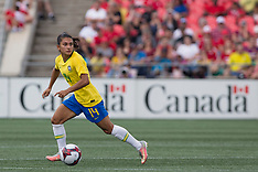2018 SOCCER: SEP 2 Women's Brazil at Canada