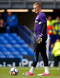 Jordan Pickford of Everton warms up - Mandatory by-line: Matt McNulty/JMP - 12/08/2017 - FOOTBALL - Goodison Park - Liverpool, England - Everton v Stoke City - Premier League