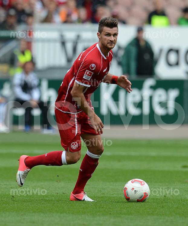 Fussball 2. Bundesliga:  Saison   2012/2013,    3. Spieltag  1. FC Kaiserslautern - TSV 1860 Muenchen   26.08.2012 Enis Alushi (1. FC Kaiserslautern)