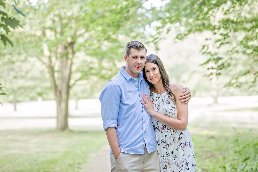 Megan & Tanner's Hot Summer Engagement