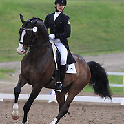 Amy Jager and Key West at the 2010 Equivents Spring Classic in Milton, Ontario.