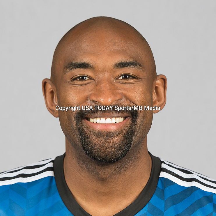 Feb 25, 2016; USA; San Jose Earthquakes player Wynne Marvell poses for a photo. Mandatory Credit: USA TODAY Sports