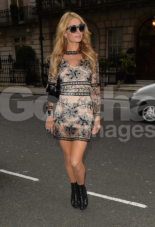 Paris Hilton out and about in London, UK. 27/04/2016<br />