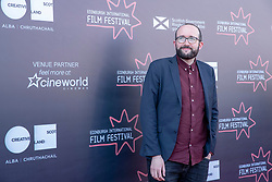 Judges photocall at Edinburgh International Film Festival<br /> <br /> Pictured: Alejandro Diaz Castano, Film Festival Director (Shorts Jury)