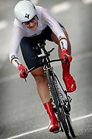 Sykkel<br /> UCI VM 2014<br /> Ponferrada Spania<br /> 23.09.2014<br /> Foto: PhotoNews/Digitalsport<br /> NORWAY ONLY<br /> <br /> Ponferrada - Spain  - wielrennen - cycling - radsport - cyclisme - Lisa Brennauer (Specialized-lululemon) (GER)  pictured during  Championnats du Monde UCI CLM/ UCI TT World Championships (Women Elite)  WC - Wereldkampioenschap Time Trial Individual