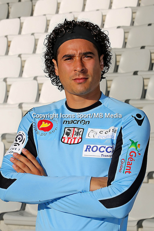 Guillermo OCHOA - 18.10.2013 - Photo Officielle - Ajaccio<br /> Photo : Icon Sport