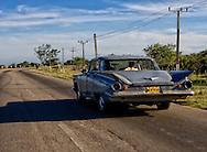 Finned car near Cardenas, Matanzas, Cuba.