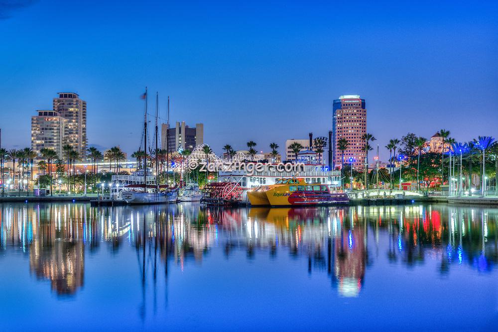Long Beach Ca Rainbow Harbor