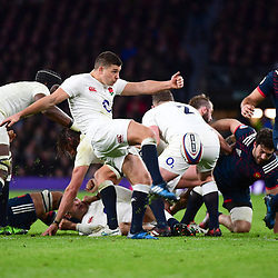 Ben Youngs of England during the RBS Six Nations match between England and France at Twickenham Stadium on February 4, 2017 in London, United Kingdom. (Photo by Dave Winter/Icon Sport)