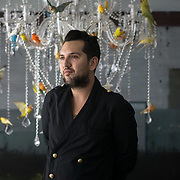 MIAMI BEACH-FLORIDA-DECEMBER 7, 2017---<br /> Chilean art collector art collector Juan Yarur in Miami Beach, Florida for the world famous Art Basel festival.<br /> (Photo by Angel Valentin/Freelance)