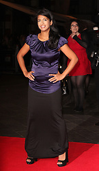 KONNIE HUQ arriving for the premiere of  new film Captain Phillips on the opening night of the London Film Festival, Wednesday, 9th October 2013. Picture by i-Images