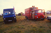 Colourful Trucks, The Mother Festival, Somerset, 1995