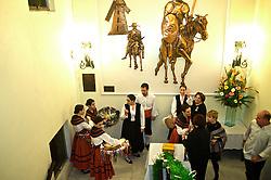 Tradicional ponto de encontro entre os espanhóis e descentes de espanhóis em Porto Alegre, o Centro Espanhol, localizado no bairro Higienópolis, reúne muitas pessoas na noite da festa da Galícia, que homenageia a comunidade autônoma situada no noroeste da Espanha. FOTO: Lucas Uebel/Preview.com