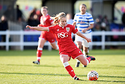 Millie Farrow of Bristol City Women scores - Mandatory by-line: Paul Knight/JMP - Mobile: 07966 386802 - 14/02/2016 -  FOOTBALL - Stoke Gifford Stadium - Bristol, England -  Bristol Academy Women v QPR Ladies - FA Cup third round