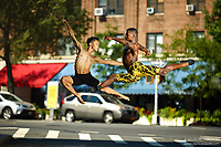 Dance As Art The New York City Photography Project West Village Minetta Lane Series with Kevin Tate and Leo Ishikawa