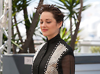 Actress Marion Cotillard at the It's Only the End of the World (Juste La Fin Du Monde) film photo call at the 69th Cannes Film Festival Thursday 19th May 2016, Cannes, France. Photography: Doreen Kennedy