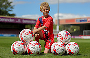 York City Mascot during the Sky Bet League 2 match between York City and Hartlepool United at Bootham Crescent, York, England on 15 August 2015. Photo by Simon Davies.