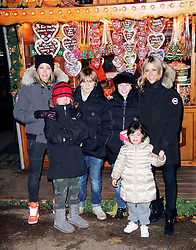 © Licensed to London News Pictures. 21/11/2013, UK.  Nicole Appleton; Natalie Appleton. Hyde Park Winter Wonderland VIP Opening, Hyde Park, London UK, 21 November 2013. Photo credit : Richard Goldschmidt/Piqtured/LNP