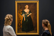 Van Dyck, Anne Sophia, Countess of<br /> Carnarvon, circa 1636, est. £400,000-600,000 - London Old Masters Evening sale exhibition at Sotheby's New Bond Street. The sale takes palce on 6 December 2017 covers 400 years of art history.