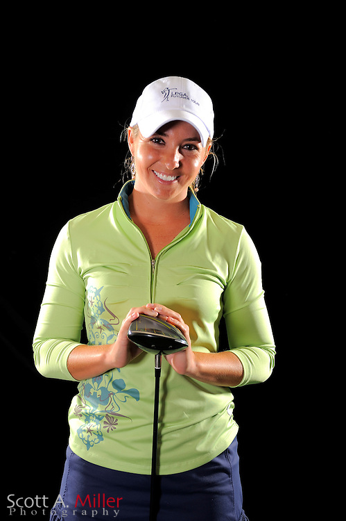 Christina Jones during a portrait shoot prior to the LPGA Future Tour's Daytona Beach Invitational at LPGA International's Championship Courser on March 28, 2011 in Daytona Beach, Florida... ©2011 Scott A. Miller