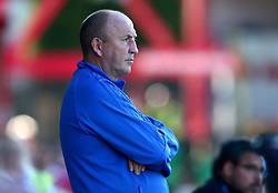 Accrington Stanley manager John Coleman - Mandatory by-line: Robbie Stephenson/JMP - 12/07/2017 - FOOTBALL - Wham Stadium - Accrington, England - Accrington Stanley v Huddersfield Town - Pre-season friendly