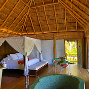 Sandia room, 3Hotelito Desconocido Sanctuary Reserve & Spa, Costalegre, Jalisco, Mexico