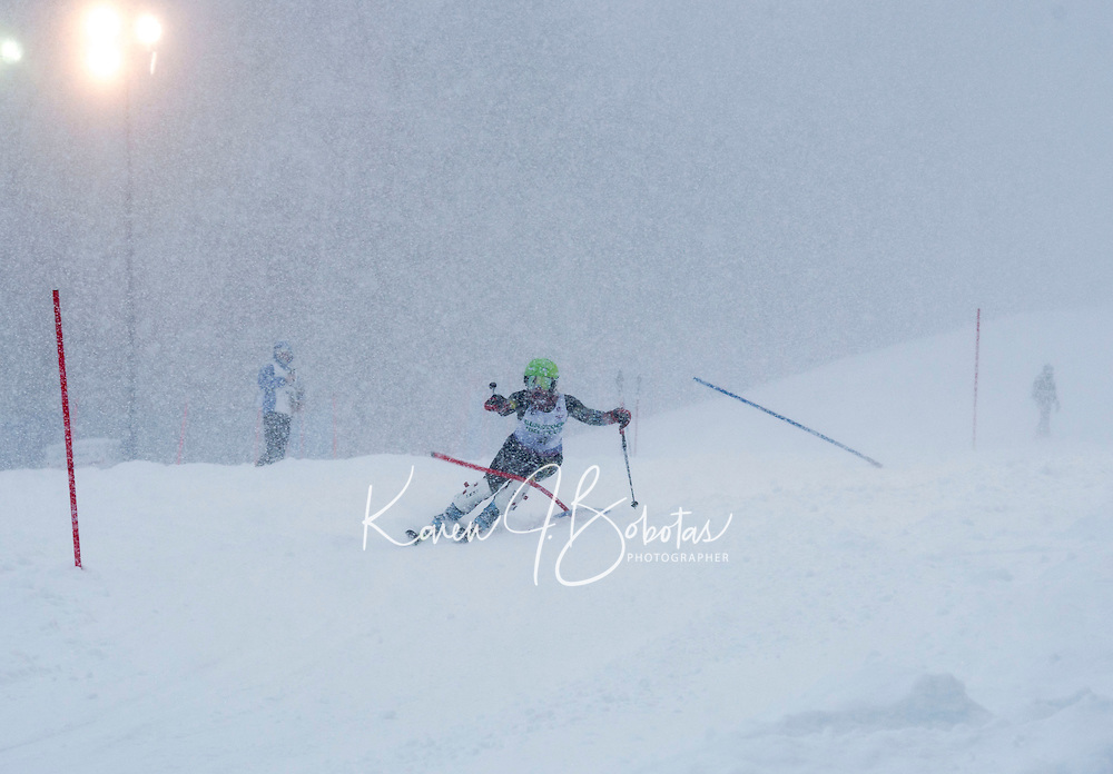 GSC Nyquist Memorial slalom at Gunstock.  ©2014 Karen Bobotas Photographer