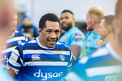 ,Anthony Perenise of Bath Rugby - Mandatory by-line: Ryan Hiscott/JMP - 03/11/2018 - RUGBY - Sandy Park Stadium - Exeter, England - Exeter Chiefs v Bath Rugby - Premiership Rugby Cup