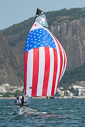 PORTEOUS Ryan, McKINNON Maureen, USA, 2-Person Keelboat, SKUD18, Sailing, Voile à Rio 2016 Paralympic Games, Brazil