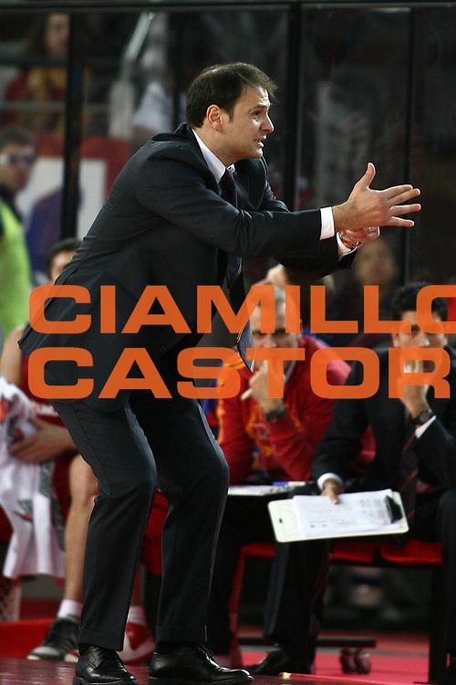 DESCRIZIONE : Roma Eurolega 2008-09 Lottomatica Virtus Roma Union Olimpija Lubiana<br /> GIOCATORE : Nando Gentile<br /> SQUADRA : Lottomatica Virtus Roma<br /> EVENTO : Eurolega 2008-2009<br /> GARA : Lottomatica Virtus Roma Union Olimpija Lubiana<br /> DATA : 18/12/2008 <br /> CATEGORIA : ritratto<br /> SPORT : Pallacanestro <br /> AUTORE : Agenzia Ciamillo-Castoria/E.Castoria