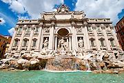 Italy, Rome, Fontana di Trevi