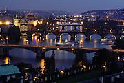 Vitava River in Prague, Czech Republic