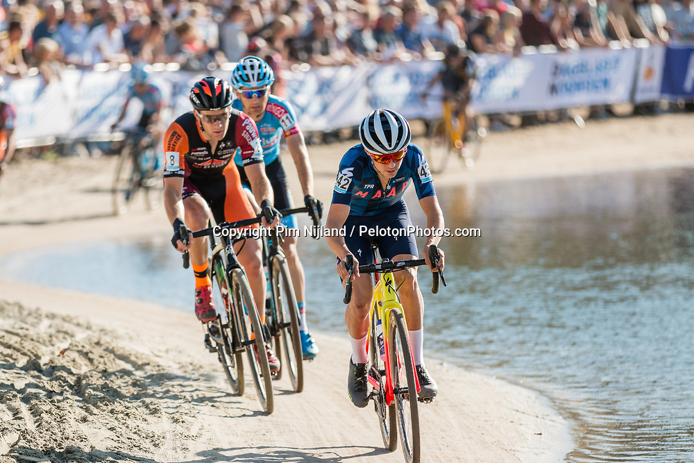 Tom PIDCOCK (GBR) during the Men Elite race at the 2018 Telenet Superprestige Cyclo-cross #1 Gieten, UCI Class 1, Gieten, Drenthe, The Netherlands, 14 October 2018. Photo by Pim Nijland / PelotonPhotos.com | All photos usage must carry mandatory copyright credit (Peloton Photos | Pim Nijland)