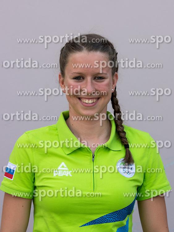 Janja Segel at presentation of Slovenian Olympic Team for Rio 2016, on July 22, 2016 in Koper, Slovenia. Photo by Matic Klansek Velej / Sportida